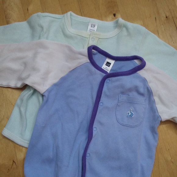 GAP Other - Gap Sweaters with Snaps Set of 2 Soft Cotton 6-12M